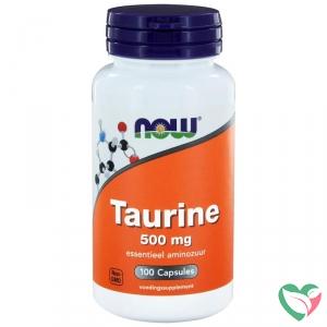 NOW Taurine 500 mg