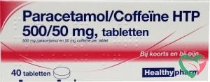 Healthypharm Paracetamol 500 mg coffeine