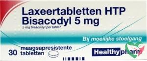 Healthypharm Laxeer bisacodylum 5 mg