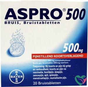 Aspro Aspro bruis 500 mg UAD
