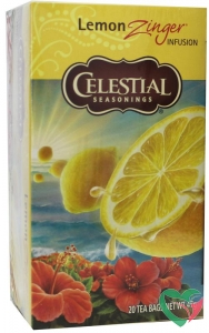 Celestial Season Lemon zinger herb tea