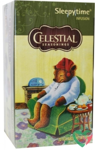 Celestial Season Sleepytime herb tea