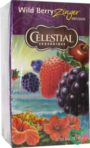 Celestial Season Wild berry zinger herb tea