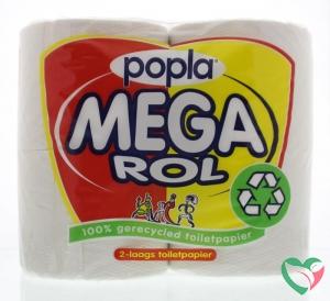 Popla Toiletpapier megarol 400 vel