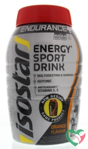 Isostar Poeder long energy orange