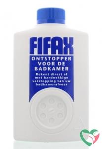 Fifax Badkamer ontstopper blauw