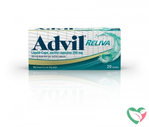 Advil Advil reliva liquid caps 200mg UAD