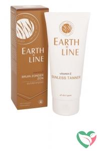 Earth-Line Vitamine E bruin zonder zon