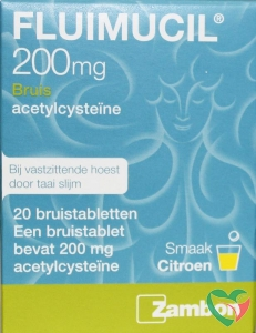 Fluimucil Fluimucil 200 mg suikervrij