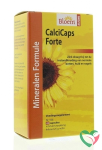 Bloem Calcicaps forte huid/bot/nagels