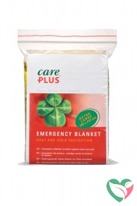 Care Plus Emergency blanket gold/silver
