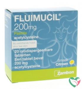 Fluimucil Fluimucil pastilles