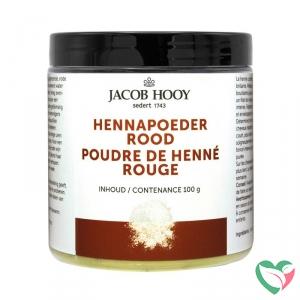 Jacob Hooy Hennapoeder rood potje