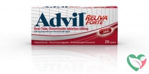 Advil Advil reliva 400 mg ovaal blister