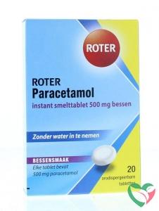 Roter Paracetamol 500 mg bessen