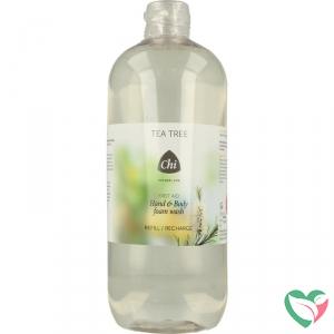 CHI Tea tree hand & body foam wash navulling