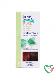 Henna Cure & Care Watercolour wijnrood