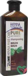 Henna Cure & Care Shampoo pure bruin