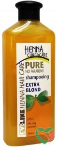 Henna Cure & Care Shampoo pure extra blond