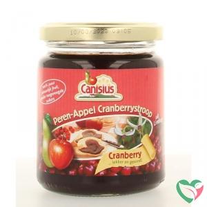 Canisius Peer appel cranberry stroop