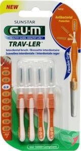 GUM Trav-ler rager 0.9 mm (oranje)