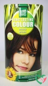 Henna Plus Long lasting colour 4.03 mocha brown
