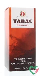 Tabac Original pre electric shave splash