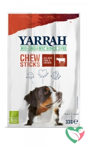 Yarrah Hond kauwstaafjes bio