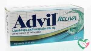 Advil Advil reliva liquid capsules 200