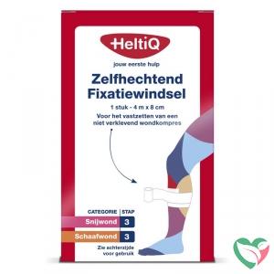 Heltiq Zelfhechtend windsel 4 m x 8 cm