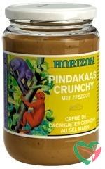 Horizon Pindakaas crunchy met zeezout eko bio