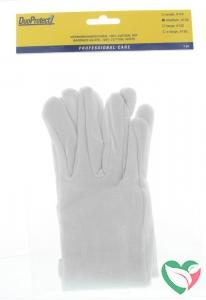 Duoprotect Handschoen katoen medium