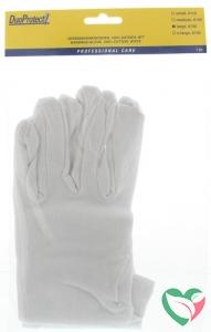Duoprotect Handschoen katoen large