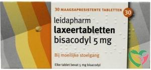 Leidapharm Bisacodyl laxeer 5 mg UAD