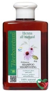 Herboretum Henna all natural shampoo anti roos