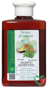 Herboretum Henna all natural shampoo droog/gekleurd haar