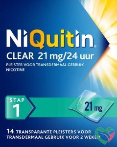 Niquitin Stap 1 21 mg