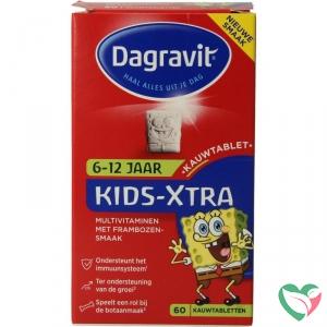 Dagravit Multi kids aardbei 6-12 jaar