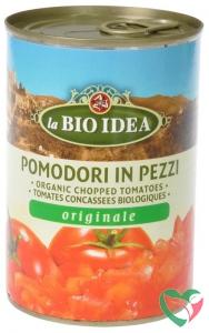 Bioidea Tomatenstukjes in blik
