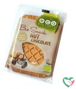 Ecobiscuit Noten / chocolade biscuit bio