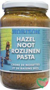 Horizon Hazelnoot rozijnenpasta eko