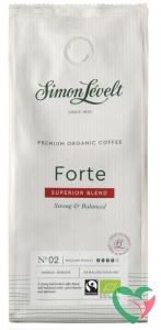 Simon Levelt Cafe organico forte snelfilter