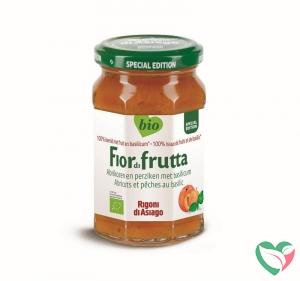Fiordifrutta Abrikozen en perziken met basilicum jam