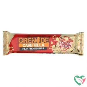 Grenade High protein bar white chocolate salted peanut