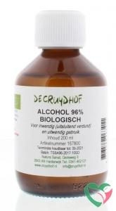 Cruydhof Alcohol 96% inwendig en uitwendig bio