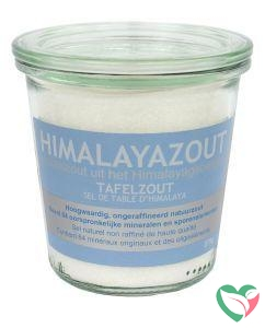Esspo Himalayazout tafelzout wit fijn glas