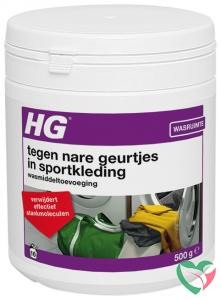 HG Wasmiddel toevoeging nare geurtjes sportkleding