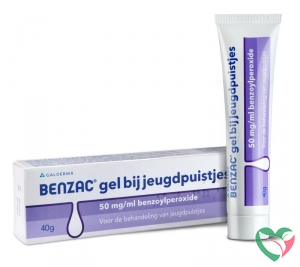 Benzac Gel 50mg/ml benzoylperoxide