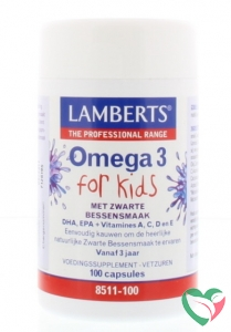 Lamberts Visolie omega 3 for kids