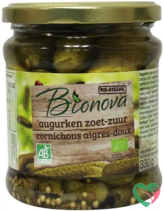 Bionova Augurken zoet zuur